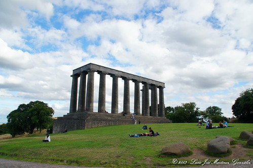 "Edinburgh: National Monument (Calton Hill) • <a style=""font-size:0.8em;"" href=""http://www.flickr.com/photos/26679841@N00/15915654845/"" target=""_blank"">View on Flickr</a>"