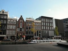 Amsterdam - Prinsengracht (Aelo de la Krotsche) Tags: amsterdam prinsengracht annefrank annefrankhouse annefrankhuis