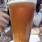 Bier in der Klostergaststätte. Himmlisch!