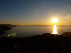 Tramonto dalla collina, Corsica (enGIOy) Tags: light sunset sea mountains seaside beautifull
