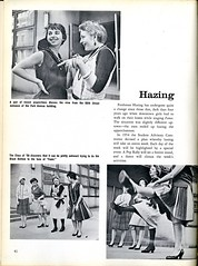 Hazing (Hunter College Archives) Tags: 1955 students events fame yearbook social event hunter freshman hazing activities huntercollege socialevents blackbottom studentactivities wistarion studentlifestyles thewistarion