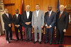His Excellency, Anthony Thomas Aquinas Carmona, ORTT, SC received the Port of Spain Businessmen