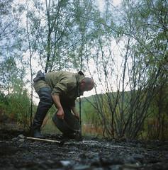000194480006 (RDAYZ) Tags: wild mountains 120 6x6 film nature rollei analog rolleiflex photo fuji forrest velvia fujifilm medium format mf geology geo automat taiga yakutia 2014 sakha якутия