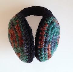 Photo 10-1-15 17 24 10 (Mamipaula y Pipocass Handmade) Tags: wool handmade earmuffs giftideas earwarmers orejeras winteraccesories pipocasshandmade unisexearmuffs