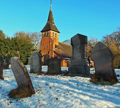 St Mary's Church, Whitegate (Majorshots) Tags: winter snow cheshire churchyard stmaryschurch whitegate stmaryschurchwhitegate