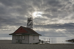 Leuty Lifeguard Station (Thankful!) Tags: morning toronto beach beaches lakeontario thebeach leutylifeguardstation keybeach