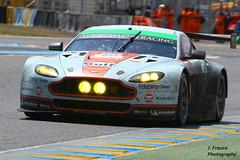 Le Mans 2014 Aston Martin V8 Vantage (Javier Frauca) Tags: car sport race canon martin mans le hours 24 resistencia endurance velocidad lemans v8 aston carreras motorsport vantage 2014 heures 70d lemans2014