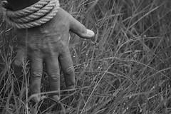 Prisoner (caterinarobba) Tags: fiction white black bew trieste prisoner
