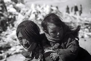 Pilgrims at Mount Kailash, Tibet