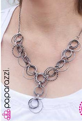 5th Avenue Black Necklace K3 P2130A-3