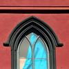 must be hard to find curtains that fit (msdonnalee) Tags: window churchwindow janela ventana finestra fenster fenêtre red rosso rot rojo vermelho rouge cortina tenda rideau curtain punainen röd 빨간 красный 赤い κόκκινοσ 红的 أَحْمَر 窓 окно