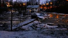 Rapid Vantaankoski in January darkness (Vantaa, 20150110) (RainoL) Tags: longexposure winter night finland river geotagged vantaanjoki january u vanda fin rapid vantaa uusimaa 2015 vantaankoski vandaforsen 201501 20150110 geo:lat=6029493805 geo:lon=2486599267