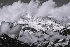 Heaven (Sougata2013) Tags: winter sky bw india mountain cold nature clouds landscape nikon heaven hill january kullu himachalpradesh nikond3200 2015 bijlimahadevtemple