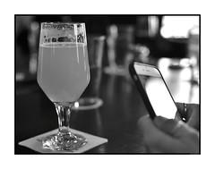 Bar View (Geoff Reno) Tags: street city people urban blackandwhite bw usa boston ma 50mm nikon d750 f18