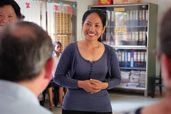 Heidt    (USEmbassyPhnomPenh) Tags: school america dance high student cambodia united performance peacock teacher states organization province ngo pursat