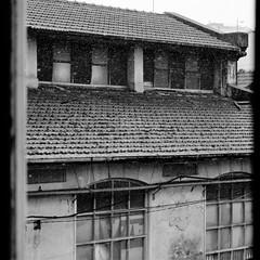 Matadouro Municipal Porto (fpaulo2k1) Tags: building old ancient abandoned wood architecture history historic house art urban street landmark cityscape light historical monochrome outside outdoors rain window nobody nopeople