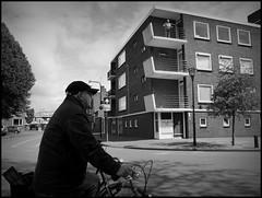 Zutphen (NL) - 2016/05/16 (Geert Haelterman) Tags: blackandwhite white black holland monochrome candid nederland streetphotography olympus zwart wit geert streetshot zutphen photoderue straatfotografie photographiederue fotografadecalle strassenfotografie fotografiadistrada haelterman omdem10