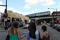 Al's Beef (dangaken) Tags: train subway cta el transit l redline brownline wrigleyville elevatedtrain chicagotransitauthority alsbeef chicagoicon