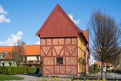 Half-timbered hous (Infomastern) Tags: building ystad conventgarden byggnad klostertrdgrden korvirkeshus