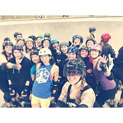 Junior Roller Derby - Skate Park 1-31-2016