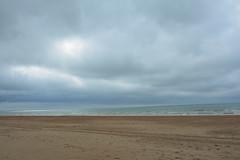 Changing weather. (Azariel01) Tags: mer beach clouds see belgium belgique belgie north zee nuages plage nord noord koksijde 2016 coxyde changingweather tempschangeant
