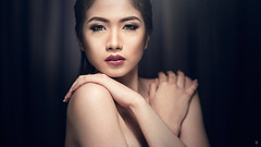 Awi Alonzo (brymanaloto) Tags: lighting portrait sexy beauty fashion closeup asian glamour nikon photoshoot philippines dramatic headshot bm filipina cinematic metromanila colorgrading weshootpeople nikond610 brymanaloto azilocampo wilmaalonzo awialonzo