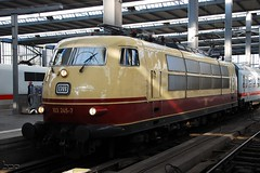 103.245 (Tams Tokai) Tags: eisenbahn zug db bahn vonat vast