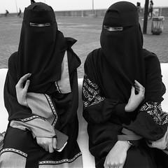 Philippines  Wilfredo Raguro (wilfredoraguro.com) Tags: blackandwhite woman 6 120 6x6 mamiya film girl mediumformat asian muslim philippines hijab streetportrait 120film muslimah filipino filipina mamiya6 niqab
