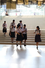 School's out (g e r a r d v o n k ) Tags: artcityart art asia asia asian backlight canon city colour expression eos earthasia fantastic flickraward lifestyle mall ngc newacademy indoor photos people reflection stad street shopping this travel totallythailand thailand thai unlimited uit urban whereisthis where yabbadabbadoo