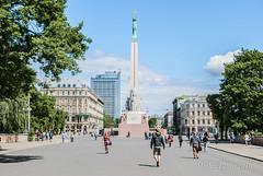 Riga, Latvia-1-32 (Michael Yule - I Can See For Miles) Tags: travel buildings nikon holidays statues latvia riga landsape d3000