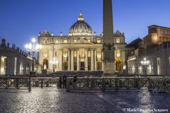 Piazza San Pietro (mariagiovannasenatore) Tags: italy rome roma italia vaticano papa sanpietro piazzasanpietro giubileo statovaticano papafrancesco