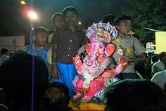 Ganesh Visarjan 2010 (Bangalore) 124 (umakant Mishra) Tags: bangalore hindureligion ganapati visarjana bangaloreevents umakantmishra soubhagyalaxmimishra ganeshvisarjana ursoorlake