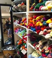 Another city, another #yarn shop. How could I leave #Helsinki without popping in? The owners @snurrelankakauppa were delightful and I picked up some squishy merino and needles to make a hat that I probably won't need on the rest of this trip but it will a (momfluential) Tags: city trip leave me its make up hat shop finland that this helsinki perfect do some merino it yarn souvenir will picked need rest were squishy always how but another needles without could remind probably wont delightful popping the in owners  i snurrelankakauppa