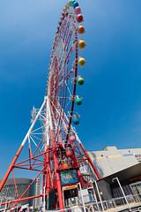 Observation wheel (Role Bigler) Tags: japan nippon tokyo canonef1635isus city observationwheel odaiba riesenrad stadt 東京