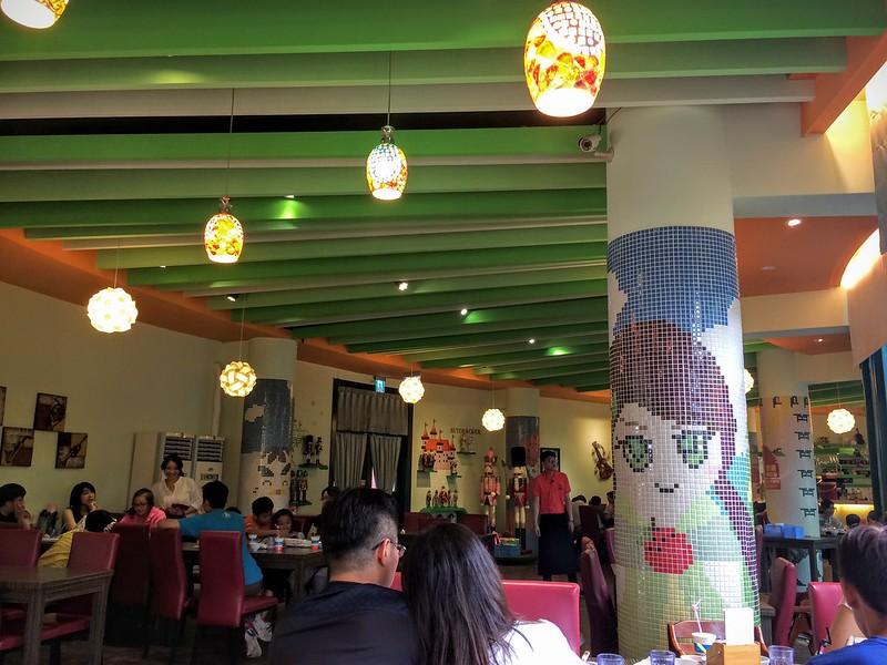就是愛荔枝餐廳內裝