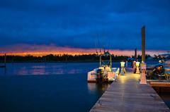 Whitehouse Cove (zachclarke) Tags: whitehousecove whitehousecovemarina marina poquoson surfrider zachclarke2 zachclarke 2016 nikon d5100 sunset water