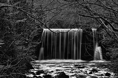 Little Breitenbach Waterfall - Kleiner Wasserfall am Breitenbach (W_von_S) Tags: longexposure trees water monochrome germany bayern deutschland bavaria blackwhite waterfall spring whitewater wasser wasserfall outdoor sony bach sw monochrom bume tegernsee werner frhling langzeitbelichtung 2016 breitenbach badwiessee schwarzweis holzalm wvons alpha7rm2 littlebreitenbachwaterfall