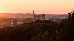 The Rosy View (arne.lindgren) Tags: gteborg gothenburg liseberg gothiatowers ullevi hisingen lppstiftet sommarsolstnd f