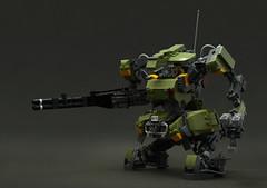 HMS088R-Hylobates (legorobo:waka) Tags: lego moc mech robot