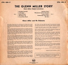 Miller, Glenn - Story - RCA - D - 1956- (Affendaddy) Tags: germany 1950s 1956 1960s glennmiller 10inchrecords vinylalbums theglennmillerstory collectionklaushiltscher telefunkendecca 25cmlps lpm9801e