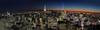 The Possibility of New York City (gimmeocean) Tags: nyc newyorkcity sunset panorama ny newyork manhattan pano empirestatebuilding topoftherock