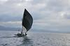 Sailing into the evening (Sven Rudolf Jan) Tags: sea sailing canoe papuanewguinea alotau