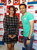 Sonakshi Sinha and Jaey Gajera Showing Tevar together at Fever 104 FM Radio Station to Promote upcoming Indian 2015 Bollywood film Tevar  Twitter com JaeyGajeraIndia    ArjunKapoor     SonakshiSinha     ManjoBajpayee     ClintonCerejo     Tevar     Attitu