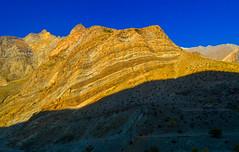Tandi (Sougata2013) Tags: blue light shadow sky india mountain color nature landscape nikon hill hilltop himachalpradesh nikond3200 keylong tandi lahaulvalley