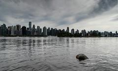 Vancouver skyline (mhardie86) Tags: water rock vancouver cityskyline canada2014 cityskapecanada