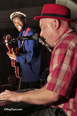 """Stompin' Dave Band at the Heathlands Boogaloo Blues Weekend December 2014 • <a style=""""font-size:0.8em;"""" href=""""http://www.flickr.com/photos/86643986@N07/15536120273/"""" target=""""_blank"""">View on Flickr</a>"""