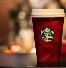 Winter is Coming (J. Romano) Tags: christmas winter snow color coffee happy 50mm amazing cool nice seasons awesome joy starbucks gameofthrones