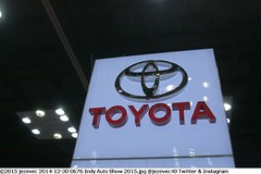 2014-12-30 0676 Indy Auto Show 2015 TOYOTA group