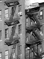 New York tenements, on Bowerry