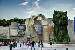 Bilbao_Guggenheim (Luis Manuel MICHETO) Tags: espaa bilbao hdr vizcaya gugenheim tonemapping micheto